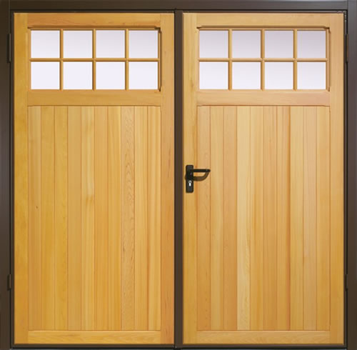 Adlor uk garage doors side hinged doors Garage with doors on both sides